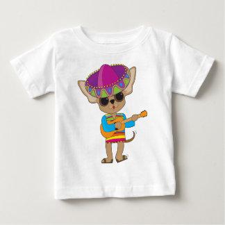 Chihuahua Guitar Baby T-Shirt