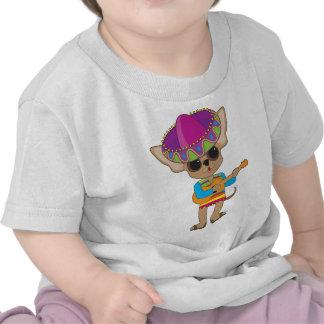 Chihuahua Guitar Shirt