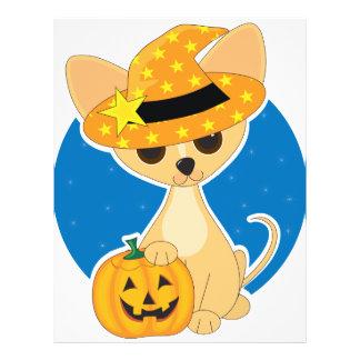 "Chihuahua Halloween Folleto 8.5"" X 11"""