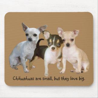 Chihuahua Happy Trio Mousepad