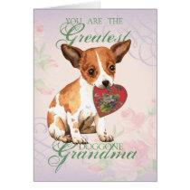 Chihuahua Heart Grandma Card
