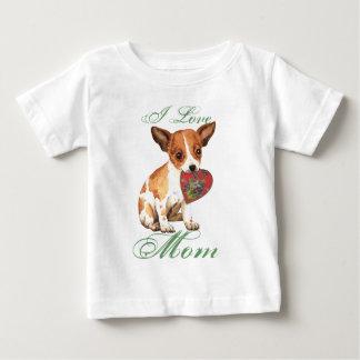 Chihuahua Heart Mom Baby T-Shirt