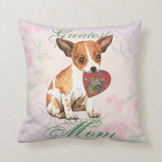 Chihuahua Heart Mom Throw Pillow