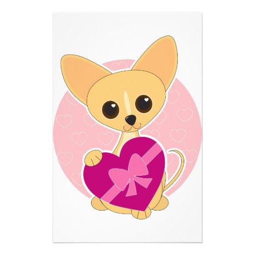 Chihuahua Heart Stationery