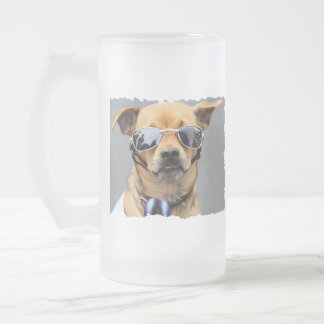 Chihuahua - Hello Ladies! Frosted Glass Beer Mug