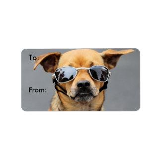 Chihuahua - Hello Ladies! Label