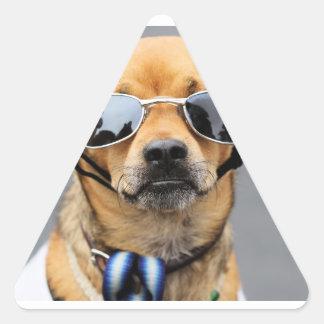 Chihuahua - Hello Ladies! Triangle Sticker