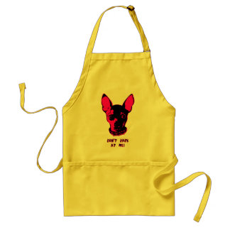 Chihuahua Illustration Adult Apron