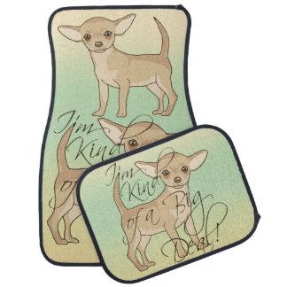 Chihuahua I'm Kind of a Big Deal Graphic Design Car Mat