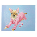 Chihuahua in a Bathrobe Dog Paper Notepad