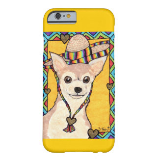 Chihuahua in a Rainbow Sombrero Barely There iPhone 6 Case