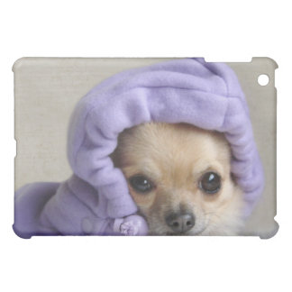 Chihuahua in hoodie iPad case