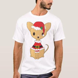 Chihuahua in Santa Suit T-Shirt