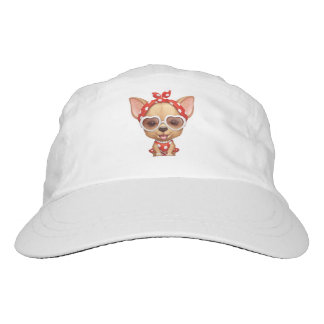 Chihuahua in the Guise of a Retro Beauty Headsweats Hat