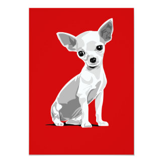 Chihuahua invitation