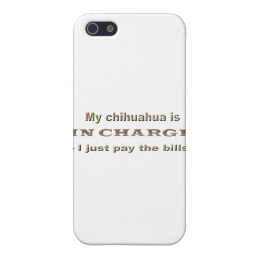 chihuahua iPhone 5 funda