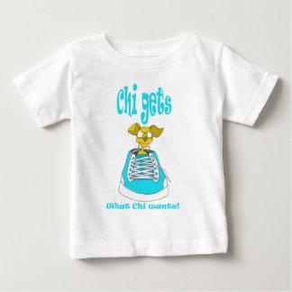 Chihuahua Junkie Baby T-Shirt