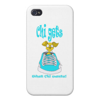 Chihuahua Junkie iPhone 4/4S Cover