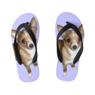 Chihuahua Kid's Flip Flops