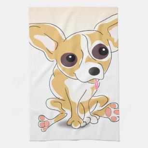 Chihuahua Kitchen Towel