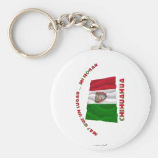 Chihuahua - la O.N.U Lugar… MI Hogar de Más Que Llavero Redondo Tipo Pin