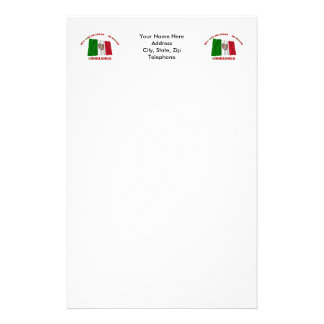 Chihuahua - la O.N.U Lugar… MI Hogar de Más Que Personalized Stationery