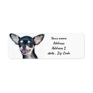Chihuahua Label