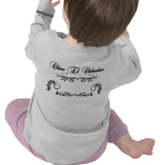 Chihuahua larga infantil del EL de Chico de la Camisetas