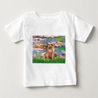 Chihuahua (LgHair 1) - Lilies 2 T Shirt