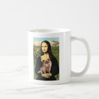 Chihuahua (LgHair-1) - Mona Lisa Coffee Mug