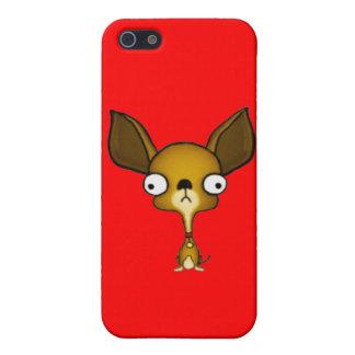 Chihuahua linda iPhone 5 carcasa