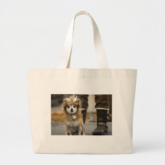 Chihuahua Lion with Horns Bags