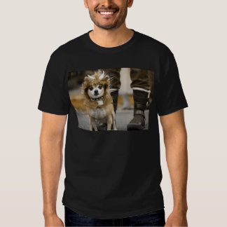 Chihuahua Lion with Horns T-Shirt