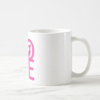 Chihuahua love pdog cute silhouette mug, gift idea