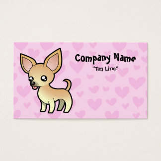 Chihuahua Love (smooth coat) Business Card