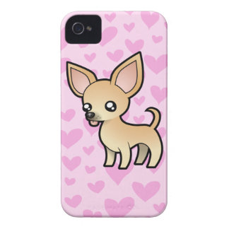 Chihuahua Love (smooth coat) iPhone 4 Case