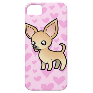 Chihuahua Love (smooth coat) iPhone SE/5/5s Case