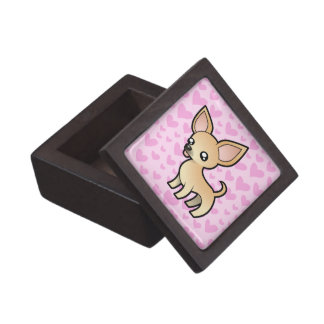 Chihuahua Love (smooth coat) Jewelry Box