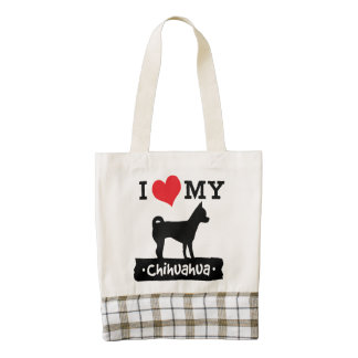 Chihuahua Love Travel Tote by Mini Brothers