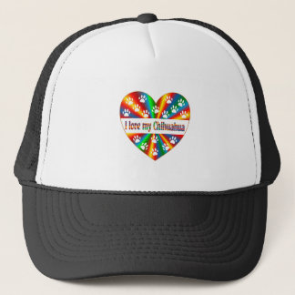 Chihuahua Love Trucker Hat