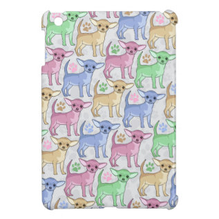 Chihuahua Lover Colorful Pattern Cover For The Ipad Mini at Zazzle