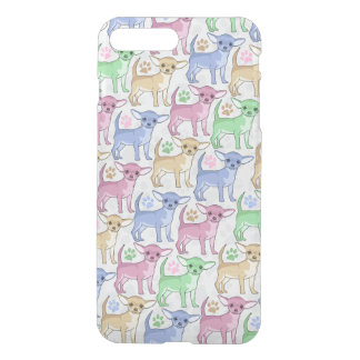 Chihuahua Lover Colorful Pattern iPhone 8 Plus/7 Plus Case