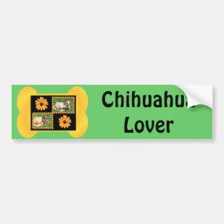 Chihuahua Lover Delight Bumper Sticker