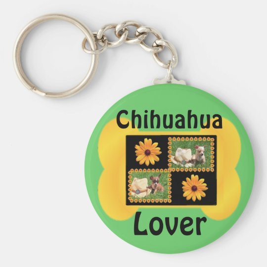 Chihuahua Lover Delight Keychain