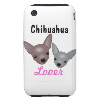 Chihuahua Lover iPhone 3G/3GS Case Tough iPhone 3 Cases