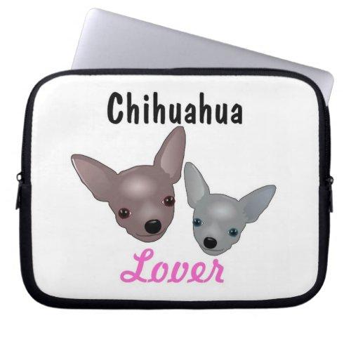 Chihuahua Lover Laptop Sleeve fuji_electronicsbag