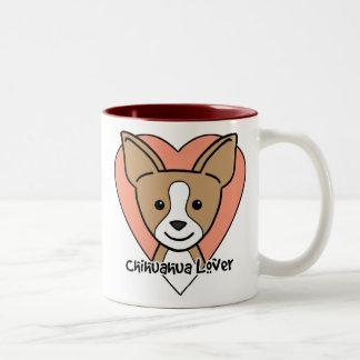 Chihuahua Lover Two-Tone Coffee Mug