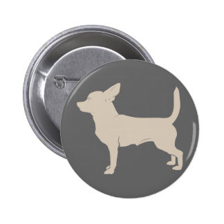 Chihuahua Lovers Classic Design Button