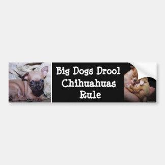 Chihuahua Lover's Delight Car Bumper Sticker