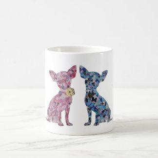 "Chihuahua ""Lovers"" Mug! Classic White Coffee Mug"